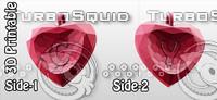 obj heart valentine pendant