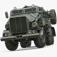 3d truck military casspir mk model