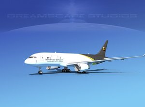 airline boeing 787-8 787 3d 3ds