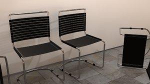 3d realistic office steel pipe model