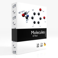 3d molecules -
