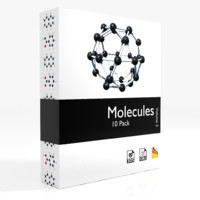 molecules - 3d 3ds