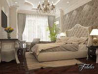 max bedroom scene