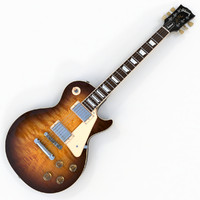 3d model gibson les paul traditional