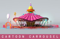 Cartoon Carrousel