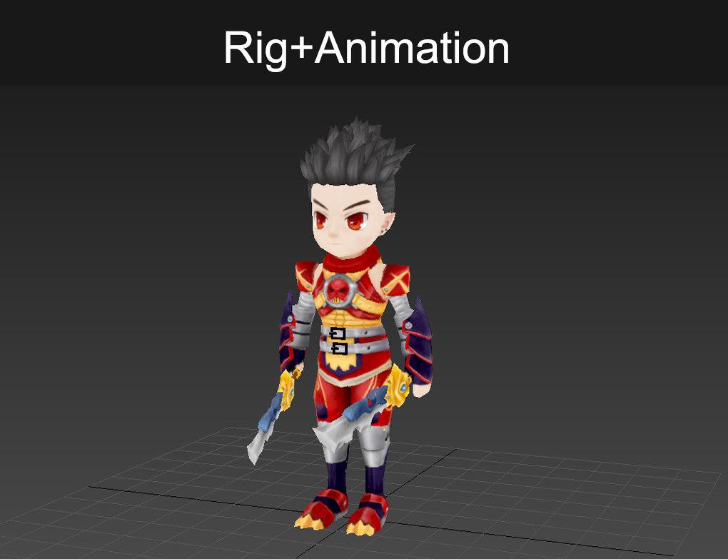 character rig max