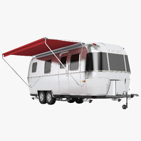 airstream bambi long 3d model