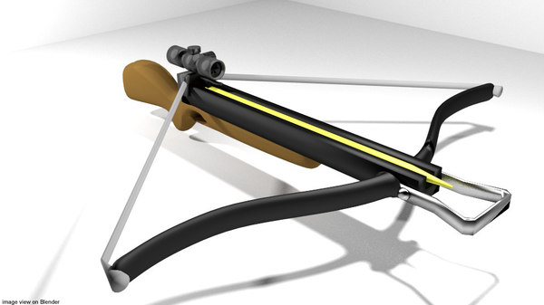 3d bow crossbow recurve