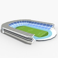 3d model restel stadium