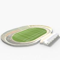 3d model of western springs stadium