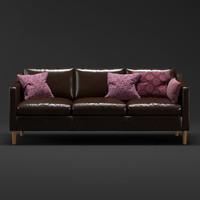 3d modern sofa west elm model