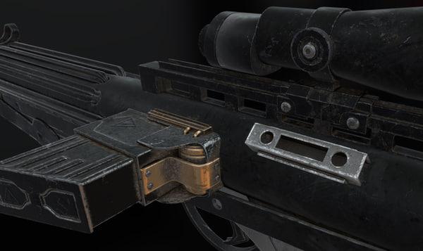 blaster rifle obj
