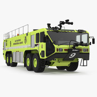 Oshkosh Striker 4500 Aircraft Rescue and Firefighting Vehicle