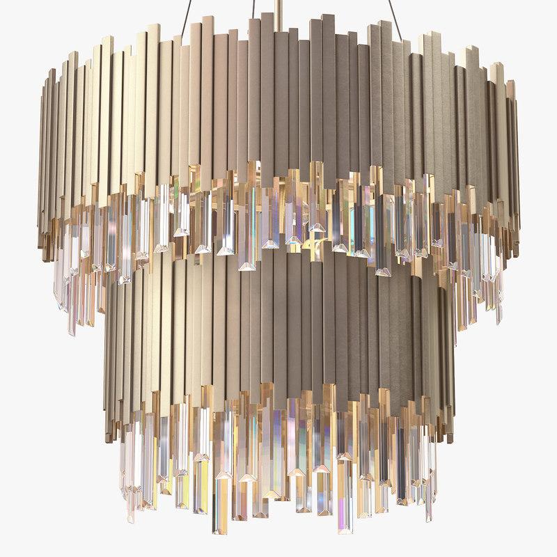 tyrol chandelier 3d model