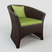 Rattan chair S02