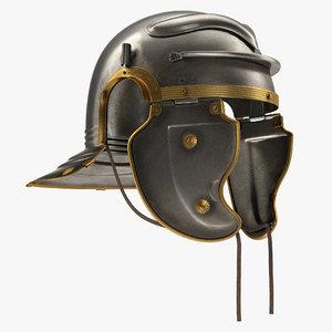 roman centurion helmet 3ds