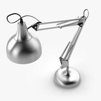 desks lamp 3d model