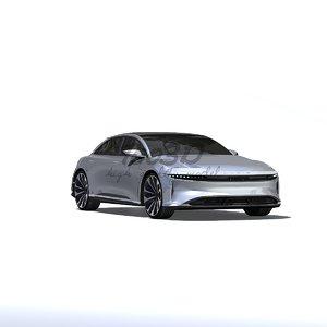 3d lucid car model