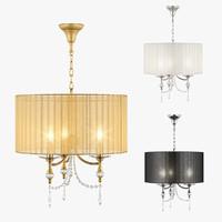 3d model chandelier paralume lightstar