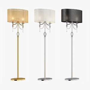 floor lamp paralume lightstar 3d max