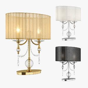 table lamp paralume lightstar 3d max
