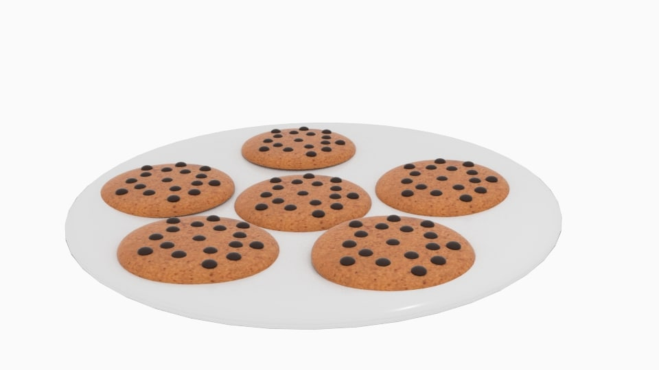 3ds cookie chocolate