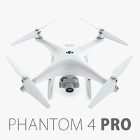 3d model dji phantom 4 pro
