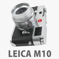 3d model of leica m10 2 camera