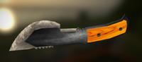 3d model of tracker knife