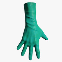 3d medical gloves