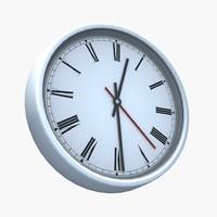 Rigged Wall Clock