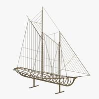 max ship metal sculpture