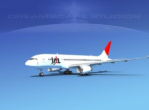 airline boeing 787-8 787 3ds