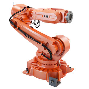 abb irb 6620 industrial robot 3d model