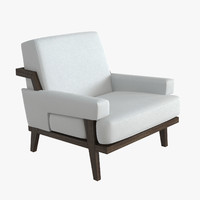 Kimberly Denman Cigar Lounge Chair
