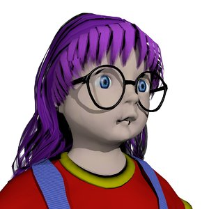 3d arale norimaki model