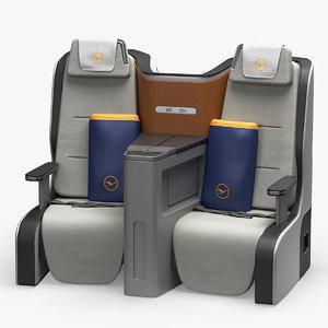 max lufthansa business class seat