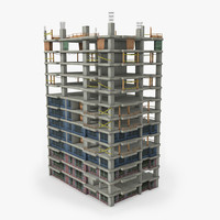 3d model of building construction