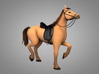 horse 3d c4d