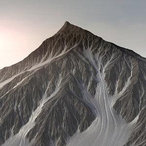 max mountains landscape terrain snow