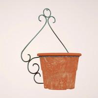 3d flowerpot 3dsmax
