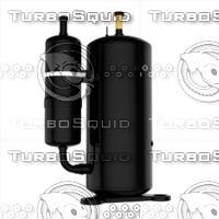 3d model ac compressor