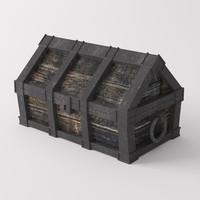 chest 3d 3ds