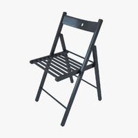 IKEA chair TERJE black