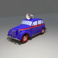 3d moskvich 400 model