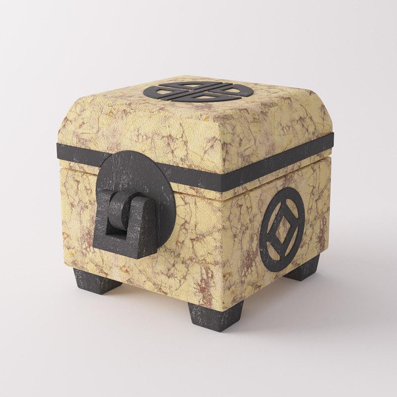 3d model of chest