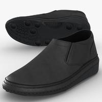 3d model men s shoes