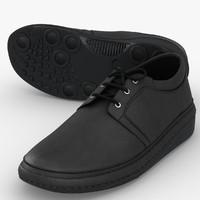 men s shoes 3d model