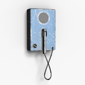 intercom 3d model