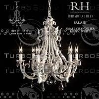 palais chandelier 3d model